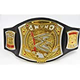 TONGXIN WWE Letters Can Rotate 360 Degrees Plastic Toy Gold Belt