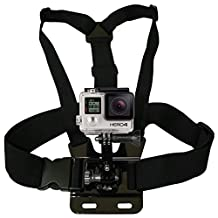 Minisuit for GoPro Hero Original 1 2 3/3+ and 4 Chest Harness with Vertical Quick Release Buckle (Housing Sold Separately)