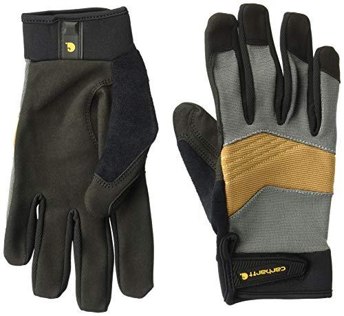 Carhartt Men's Trade Grip Glove, dark grey/brown/black, L ()