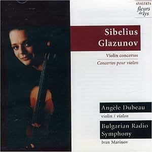 Sibelius/Glazunov: Violin Concertos