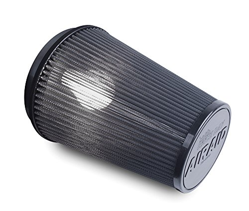 Airaid 700-420RD Racing Air Filter: Round Tapered; 3.5 in (89 mm) Flange ID; 9 in (229 mm) Height; 6 in (152 mm) Base; 4.625 in (117 mm) Top