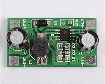 Amazon com: 1W Step Down Module DC-DC LED Driver 350mA PWM Light
