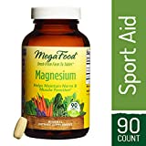 MegaFood – Magnesium, Multimineral Support for Heart, Muscle, and Nerve Health with Organic Spinach, Vegan, Gluten-Free, Non-GM