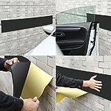GHB Protection Mural Garage Mousse Protection Garage Anti Choc pour Protection Voiture Garage avec 2 bandes 2m x 20 cm x 5 mm par une unité