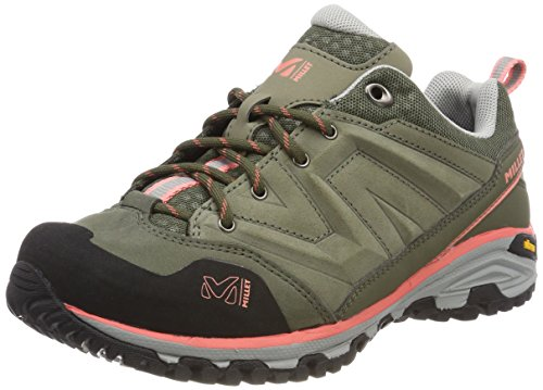 Millet 000 Rise Hike de Senderismo Peach Up LD Low Mujer Multicolor Vetiver Zapatos para Rn5rYwRqO