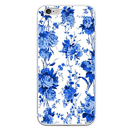 EUNOMIA China Blue and White Porcelain Print Case Cover for iPhone 6 7 Plus Samsung Galaxy Note 6 - for iPhone 6 Plus/6S Plus (Porcelain Phone)