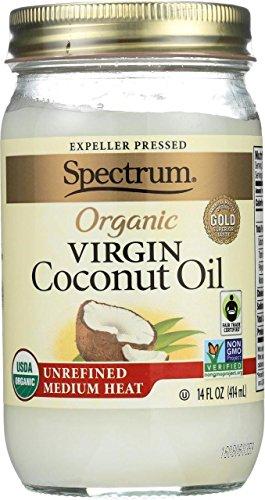 Spectrum Organic Virgin Coconut Oil -- 14 fl oz (Spectrum Store)