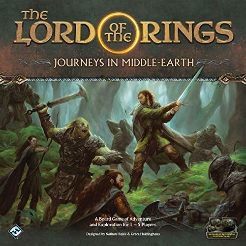 - Fantasy Flight Games LOTR: Journeys in Middle-Earth