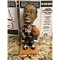 $24 » NEW IN BOX! Allen Iverson Black Jersey McDonalds 2002 Bobblehead Philadelphia 76ers