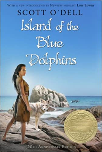 From loneliness and terror come strength and serenity in this Newbery Medal-winning classic:  Island Of The Blue Dolphins by Scott O'Dell