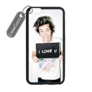 CASECOCO(TM) Harry Styles Custom Case Cover Skin Shield For iPhone 6 Plus Case Laser Technology by runtopwell