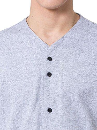 American Apparel Unisex Thick Knit Baseball Jersey - Heather Grey / XS