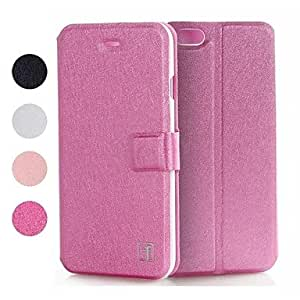 TOPQQ Topcel? Silk Print Protective PU Leather Full Body Case with Stand and Card Slot for iPhone 6 -(Assorted Colors) , White