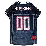 uconn football - Uconn Connecticut Huskies Mesh Dog Football Pet Jersey (Small 8