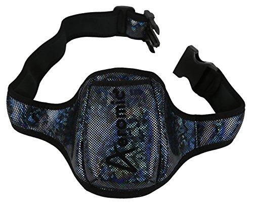 Aeromic Pouch Belt Special Edition Standard - Black Sparkle (Wireless Microphone Belt)