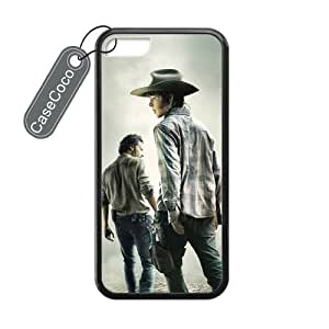 The Walking Dead Custom Hard Plastic & Rubber Case for iPhone 5c - iphone 5c Case Cover hjbrhga1544
