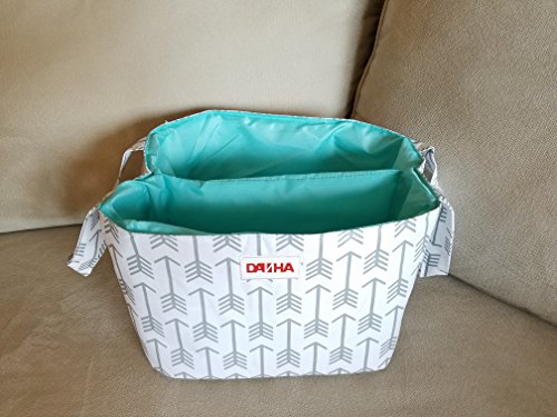 diaper-storage-caddy-by-danha-portable-diaper-bag-and-stacker-with-beautiful-white-gray-arrow-unisex