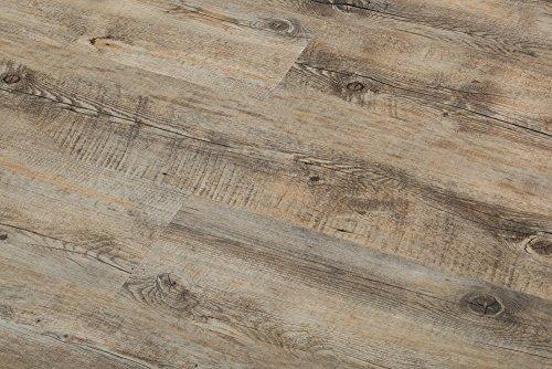 8.7mm Extra Thick Click Lock Luxury Vinyl Flooring Plank 100%...