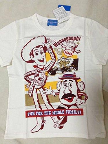 TDS ディズニー トイストーリー Tシャツ サイズ130 ウッディ ポテトヘッド