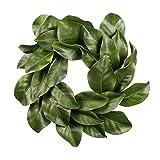 Christmas Quality Magnolia Leaf Grapevine Wreath 16''
