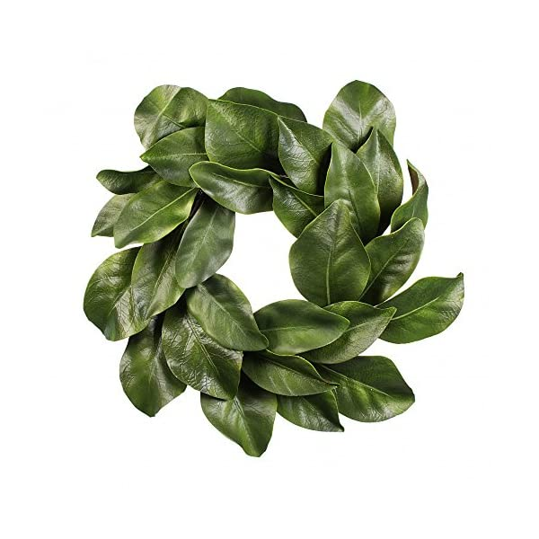 American Best Christmas Quality Magnolia Leaf Grapevine Wreath 16″