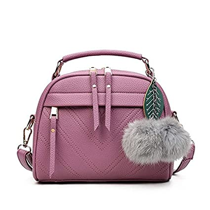 8d194d68539 Image Unavailable. Image not available for. Color  DingXiong Spring Summer  2018 Inclined Shoulder Bag Women s Leather Handbags Ladies Hand Bags ...
