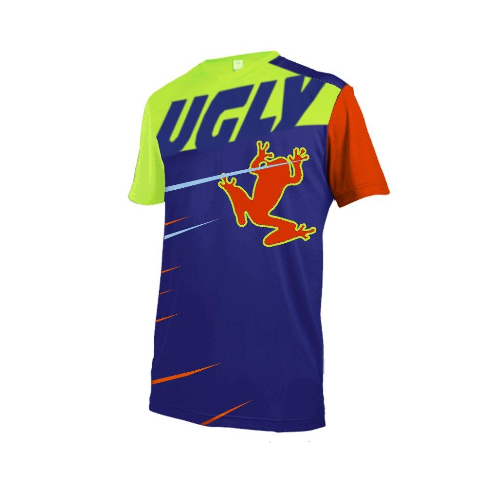Uglyfrog Designs Bike Wear Ropa Ciclismo, Camiseta Verano de Ciclistas,Downhill Shirt Motocross Juegos Ropa BurningBikewear
