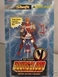 McFarlane - Rob Liefeld's Youngblood - Series 1 - Shaft ultra action figure w/custom accessories