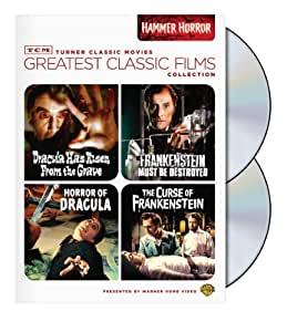 TCM Greatest Classic Film Collection: Hammer Horror (Horror of Dracula / Dracula Has Risen from the Grave / The Curse of Frankenstein / Frankenstein Must Be Destroyed)