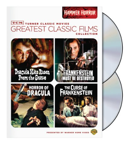 TCM Greatest Classic Film Collection: Hammer Horror (Horror of Dracula / Dracula Has Risen from the Grave / The Curse of Frankenstein / Frankenstein Must Be Destroyed) -