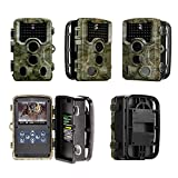 HD Trail Camera,120 Angle Motion Activated Hunting Camera,1/2.5-Inch 5-Megapixe LCD Display for Outdoor Garden Home Security Surveillance