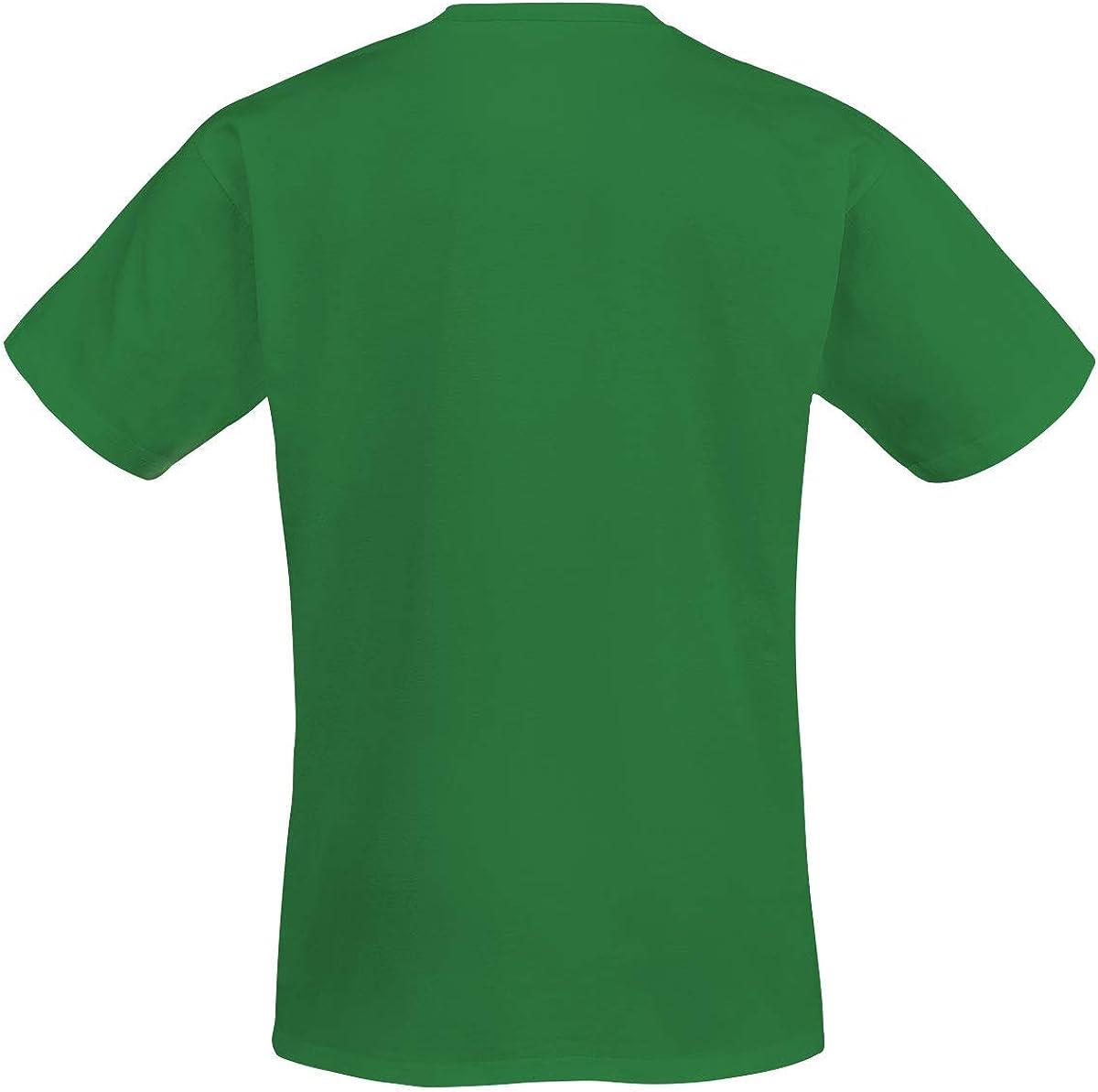 Volbeat Pin Up Logo Hombre Camiseta Verde, Regular: Amazon.es: Ropa y accesorios