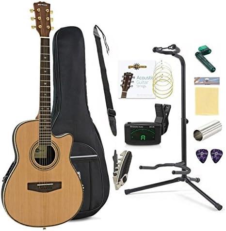 Paquete Completo de Guitarra Acustica Roundback de Gear4music ...