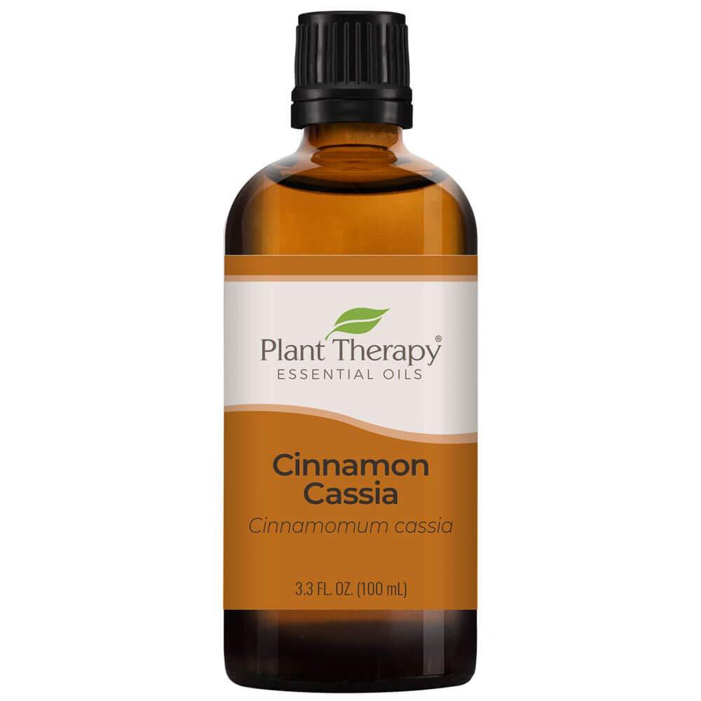 Plant Therapy Cinnamon Cassia Essential Oil 100 mL (3.3 oz) 100% Pure, Undiluted, Therapeutic Grade