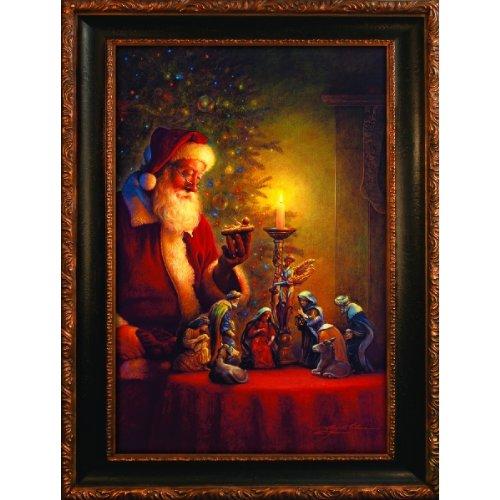 Spirit Santa (Spirit of Christmas - Santa Claus Puzzle - 500 pc Jigsaw Puzzle)