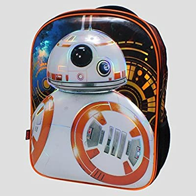 Star Wars BB8 16 inch Kids Backpack with Beanie and Lights