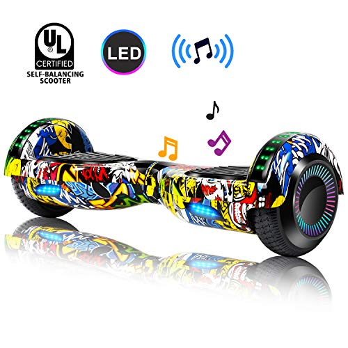 CBD Hoverboard UL 2272 Certified Self Balancing Scooter Two Wheels Hover Board Electric Scooter with Bluetooth and LED…
