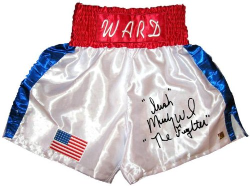 "Irish"" Micky Ward""The Fighter"" Signed Trunks - Autographed Boxing Robes and Trunks"