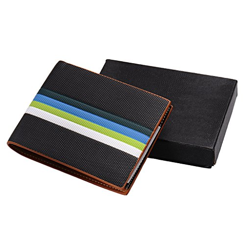 Men's Debit Black Leather Coin Soft Pocket High Credit Luxury Wallet Holder Card Quality qw8rqO4H
