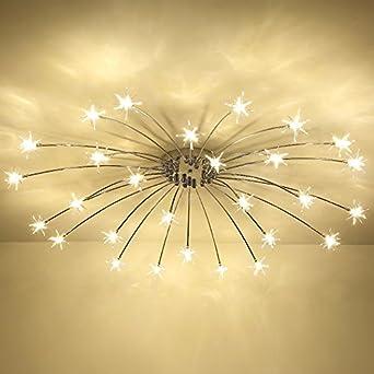Lampe de salon art Salle salon minimaliste moderne plafond ciel ...