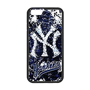 New York Yankees Back Design for 4.7 inch Screen iPhone 6 TPU Case (Laser Technology)-by Allthingsbasketball