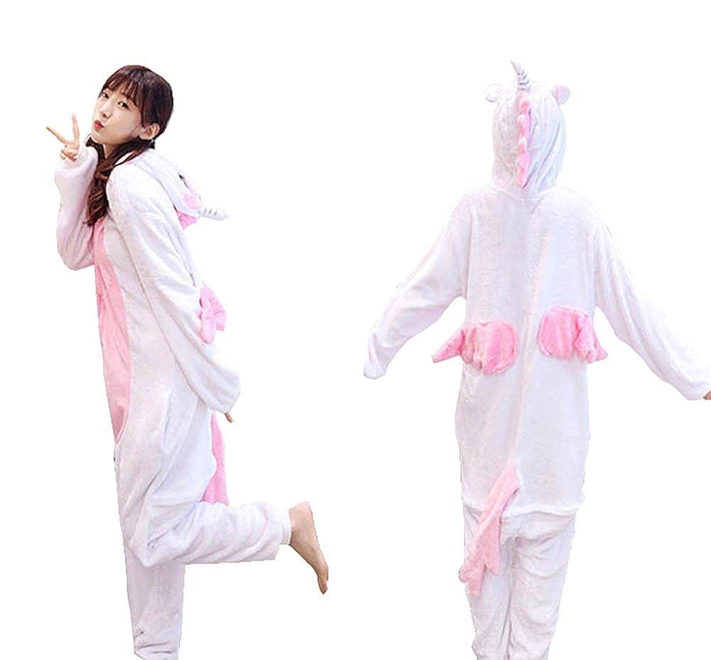 e11bc53cc Cosplay Y Animales Unisex Halloween Dormir Yimidear® Adultos Pijamas Para  Ropa Cálido Navidad Vestuario Unicornio ...