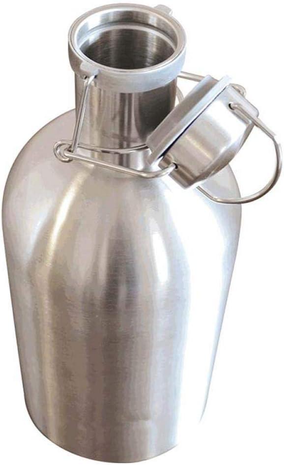 LQLQL 1L / 1.5L / 2L Barriles de Cerveza Saludable Enfriadores de Botellas de Vino de Acero Inoxidable Enfriador de Bebidas de Doble Pared Nuevas jarras de Vino Creativas