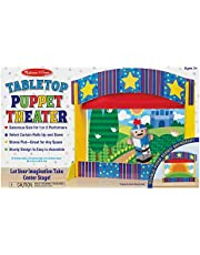 Melissa & Doug Tabletop Puppet Theater - 3 Years & Above