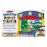 Melissa & Doug Tabletop Puppet Theater - Sturdy Wooden Construction