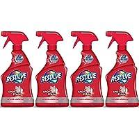 Resolve Carpet Spot & Stain Remover, 22 fl oz Bottle, Carpet Cleaner (Pack of 4)