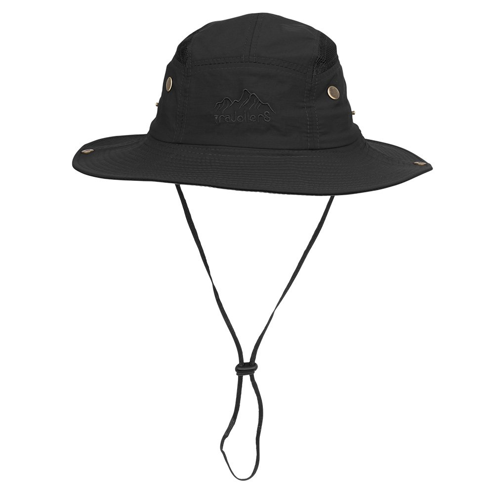 Amazon.com   Vadventure Summer Mens and Womens Safari Hat Wide Brim  Waterproof Fishing Caps Sun Protection Boonie Hats for Hunting Hiking  Camping and ... 1dd25de0868