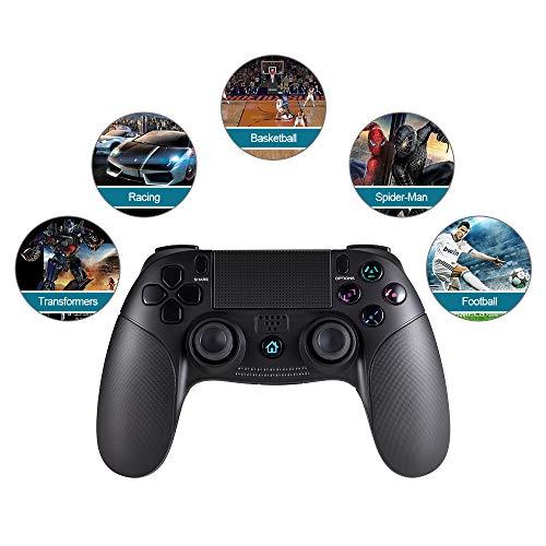 ... clásicos Joystick Gamepad Controlador de juegos inalámbrico con conexión Bluetooth Dualshock para Sony PlayStation 4: Amazon.es: Videojuegos