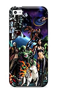 Iphone 5c Galactus Print High Quality Tpu Gel Frame Case Cover