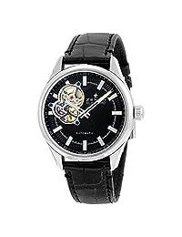 Zenith El Primero Synopsis Automatic Black Dial Black Leather Mens Watch 032170461321C714